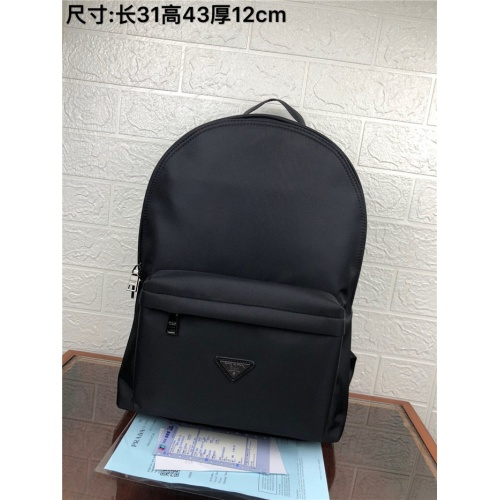 Prada AAA Man Backpacks #824418