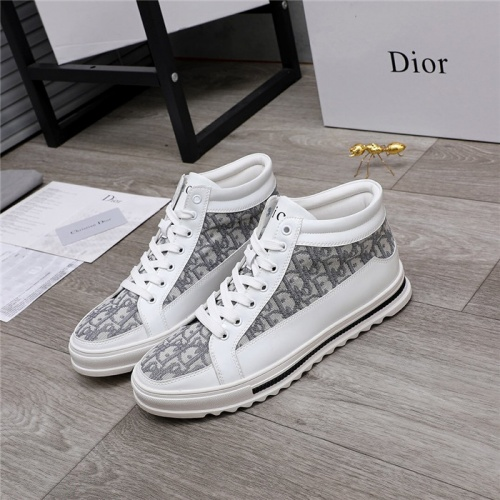 Christian Dior High Tops Shoes For Men #824466