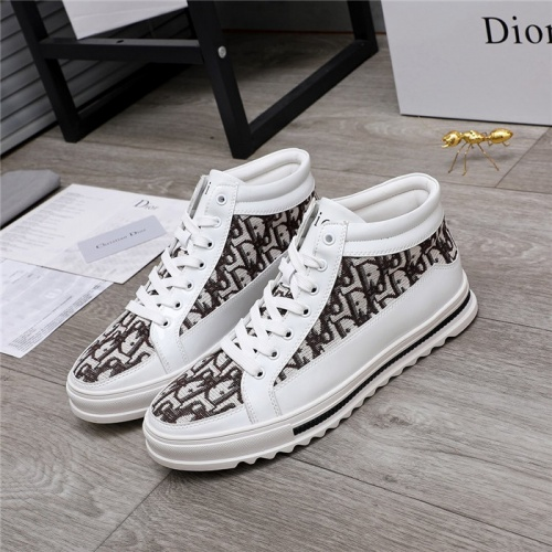 Christian Dior High Tops Shoes For Men #824467