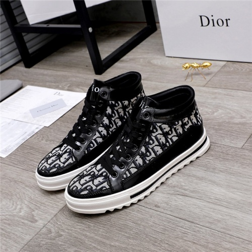 Christian Dior High Tops Shoes For Men #824468