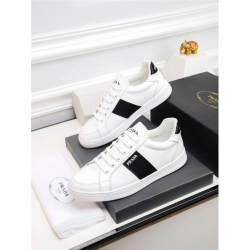 Prada Casual Shoes For Men #824481 $80.00, Wholesale Replica Prada Casual Shoes