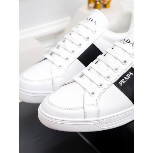 Replica Prada Casual Shoes For Men #824481 $80.00 USD for Wholesale