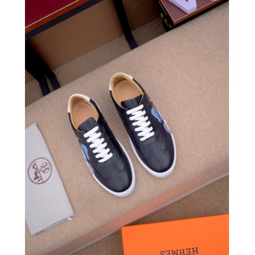 Replica Hermes Casual Shoes For Men #824500 $82.00 USD for Wholesale
