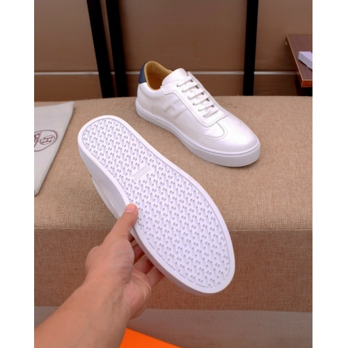 Replica Hermes Casual Shoes For Men #824501 $82.00 USD for Wholesale