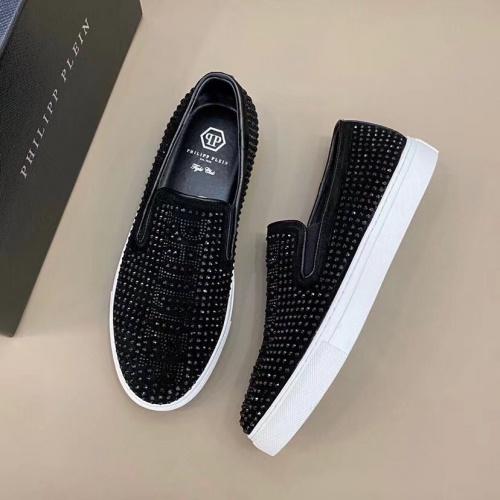 Philipp Plein PP Casual Shoes For Men #824517 $72.00, Wholesale Replica Philipp Plein Shoes