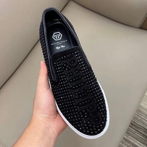 Replica Philipp Plein PP Casual Shoes For Men #824517 $72.00 USD for Wholesale