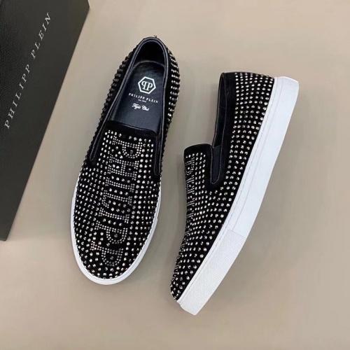Philipp Plein PP Casual Shoes For Men #824518 $72.00 USD, Wholesale Replica Philipp Plein Shoes
