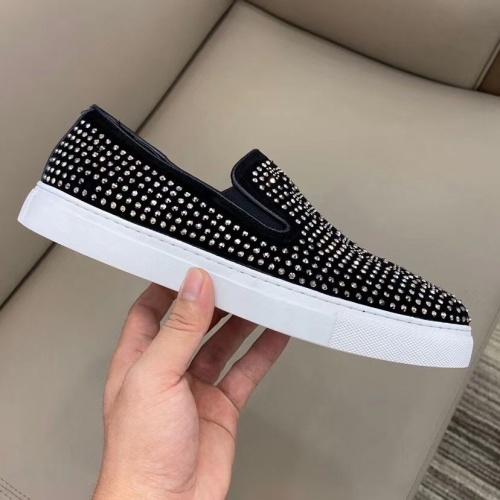 Replica Philipp Plein PP Casual Shoes For Men #824518 $72.00 USD for Wholesale