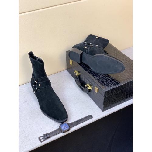 Replica Yves Saint Laurent Boots For Men #824521 $100.00 USD for Wholesale