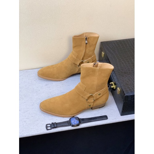 Yves Saint Laurent Boots For Men #824522