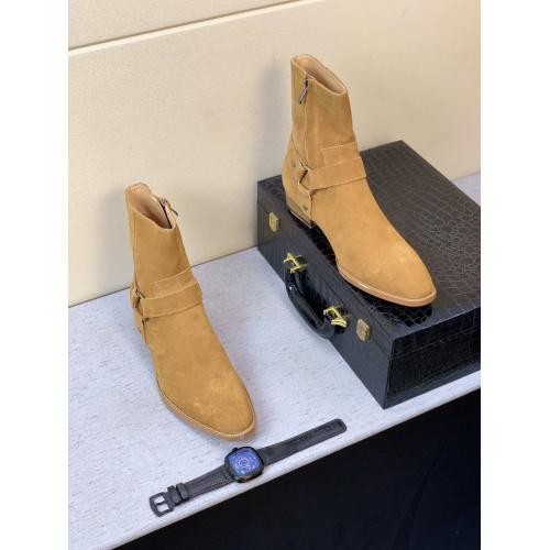 Replica Yves Saint Laurent Boots For Men #824522 $100.00 USD for Wholesale