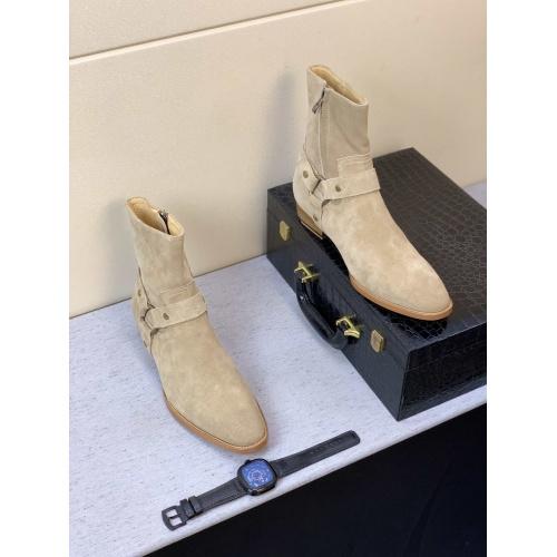 Replica Yves Saint Laurent Boots For Men #824523 $100.00 USD for Wholesale