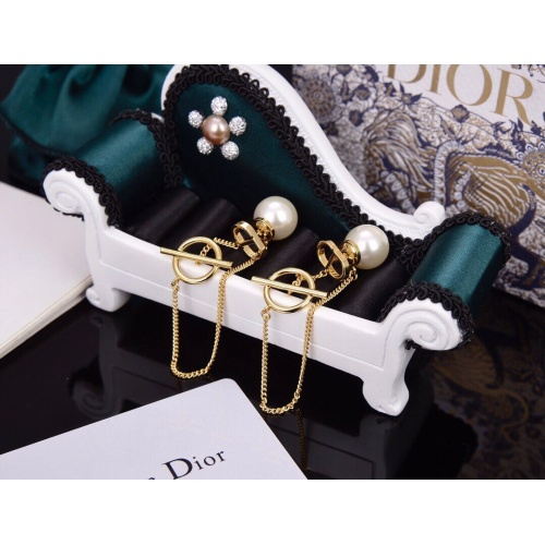 Christian Dior Earrings #824569 $32.00 USD, Wholesale Replica Christian Dior Earrings