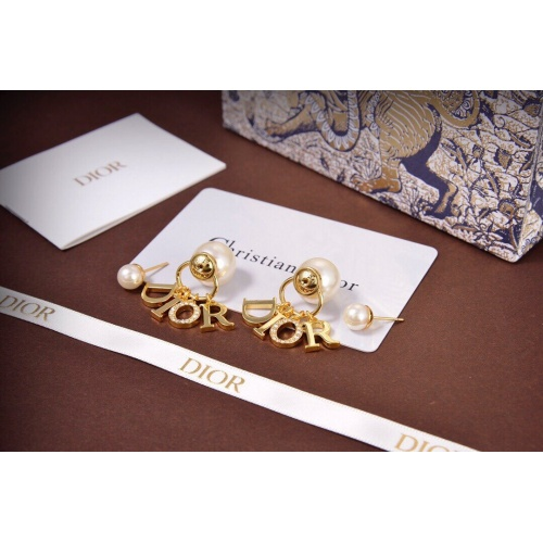 Christian Dior Earrings #824571 $34.00 USD, Wholesale Replica Christian Dior Earrings