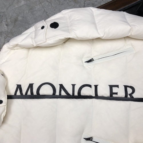 Replica Moncler Down Feather Coat Long Sleeved Zipper For Men #824712 $161.00 USD for Wholesale