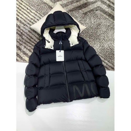 Moncler Down Feather Coat Long Sleeved Zipper For Men #824718