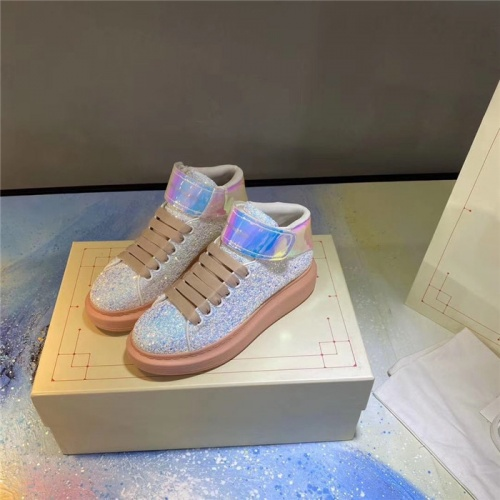 Alexander McQueen High Tops Shoes For Men #824757