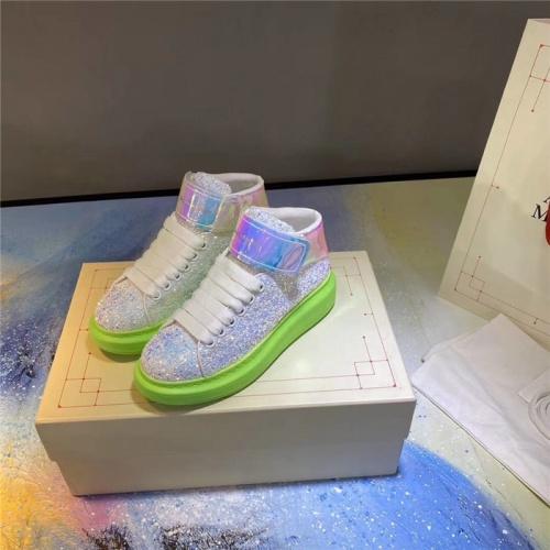 Alexander McQueen High Tops Shoes For Women #824769