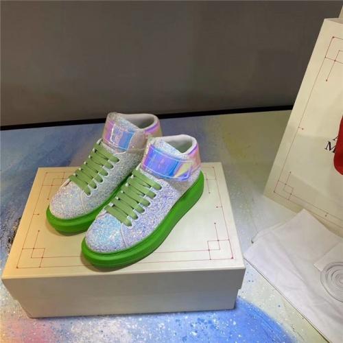 Alexander McQueen High Tops Shoes For Women #824771