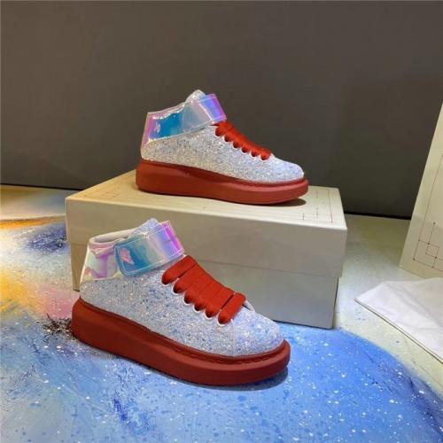 Alexander McQueen High Tops Shoes For Women #824776