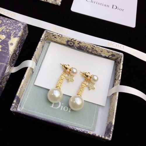Christian Dior Earrings #824796 $34.00 USD, Wholesale Replica Christian Dior Earrings