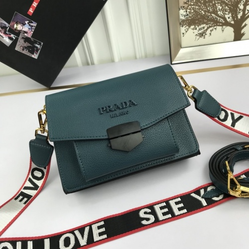 Prada AAA Quality Messeger Bags For Women #824876 $98.00, Wholesale Replica Prada AAA Quality Messeger Bags