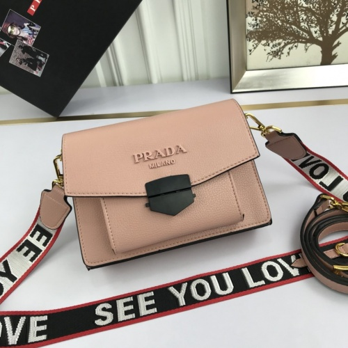 Prada AAA Quality Messeger Bags For Women #824877 $98.00, Wholesale Replica Prada AAA Quality Messeger Bags