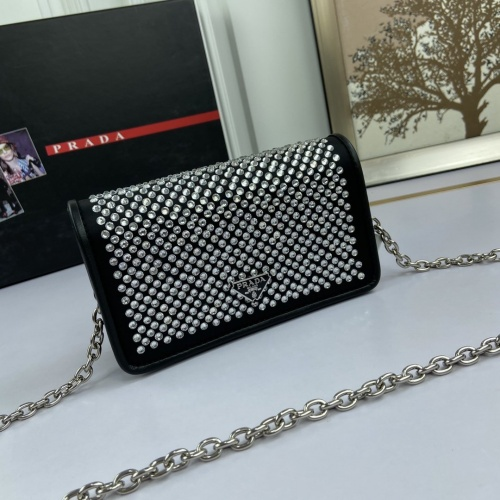 Prada AAA Quality Messeger Bags For Women #824907 $82.00, Wholesale Replica Prada AAA Quality Messeger Bags