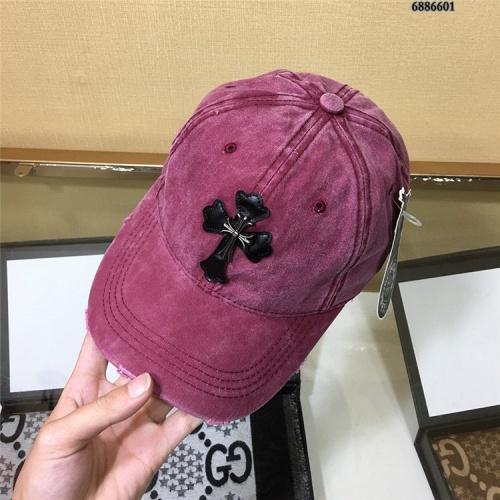 Replica Chrome Hearts Caps #824922 $27.00 USD for Wholesale
