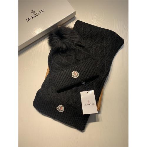 Moncler Scarf & Hat Set #825020 $56.00, Wholesale Replica Moncler Scarf