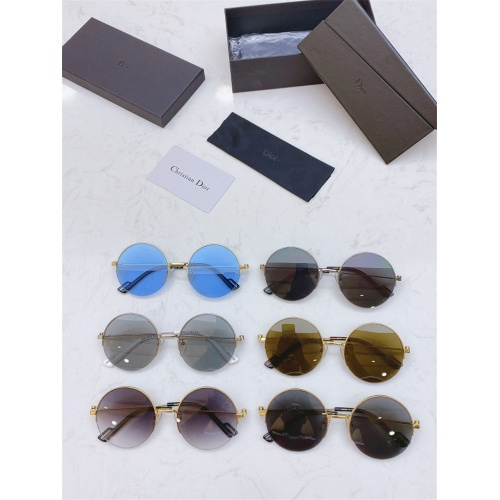 Replica Christian Dior AAA Quality Sunglasses #825043 $43.00 USD for Wholesale