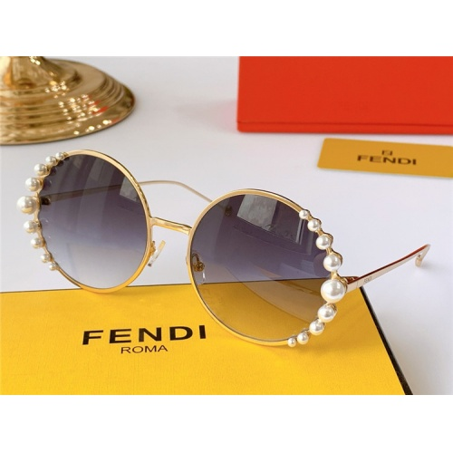 Fendi AAA Quality Sunglasses #825080