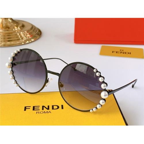 Fendi AAA Quality Sunglasses #825081 $52.00 USD, Wholesale Replica Fendi AAA Sunglasses
