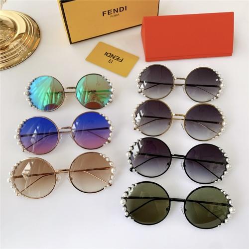 Replica Fendi AAA Quality Sunglasses #825081 $52.00 USD for Wholesale