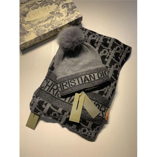 Christian Dior Scarf & Hat Set #825087