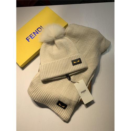 Fendi Scarf & Hat Set #825094