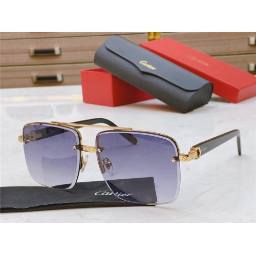 Cartier AAA Quality Sunglasses #825099