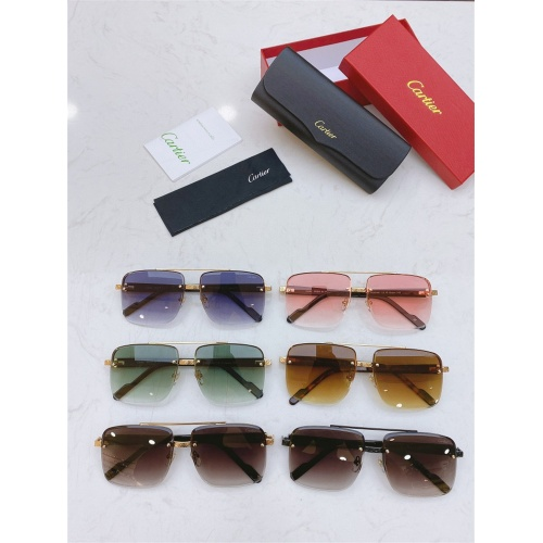 Replica Cartier AAA Quality Sunglasses #825099 $45.00 USD for Wholesale