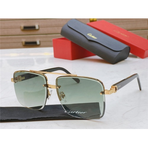 Cartier AAA Quality Sunglasses #825101