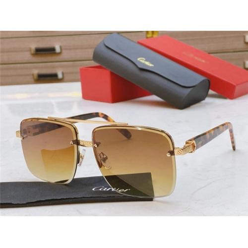 Cartier AAA Quality Sunglasses #825102