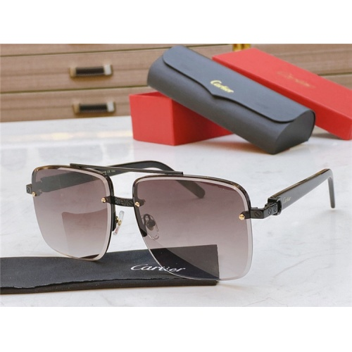 Cartier AAA Quality Sunglasses #825103