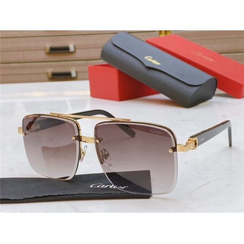 Cartier AAA Quality Sunglasses #825104