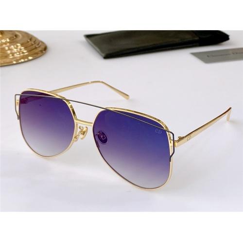 Christian Dior AAA Quality Sunglasses #825108 $56.00 USD, Wholesale Replica Christian Dior AAA Quality Sunglasses