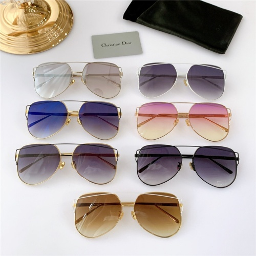 Replica Christian Dior AAA Quality Sunglasses #825108 $56.00 USD for Wholesale