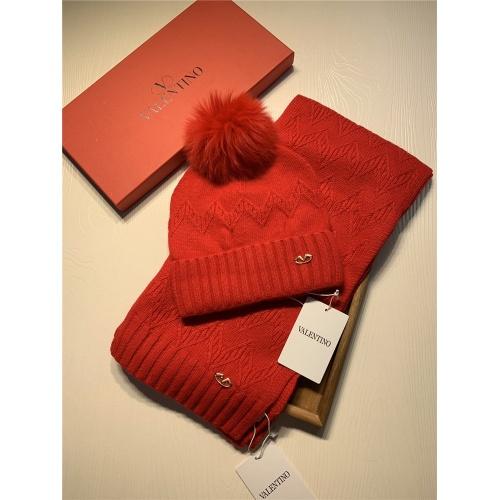 Valentino Scarf & Hat Set #825112 $56.00 USD, Wholesale Replica Valentino Scarves