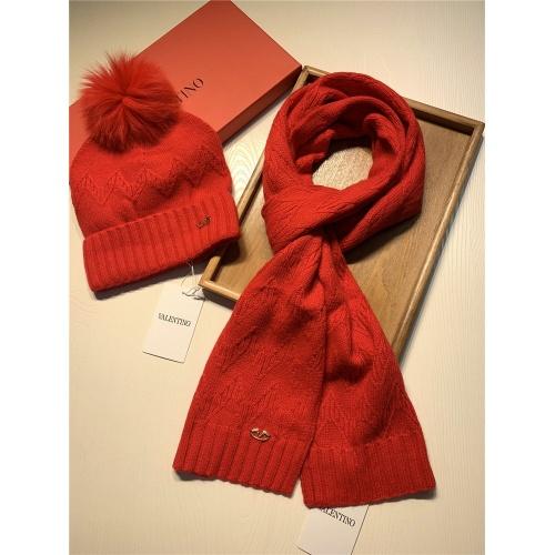 Replica Valentino Scarf & Hat Set #825112 $56.00 USD for Wholesale