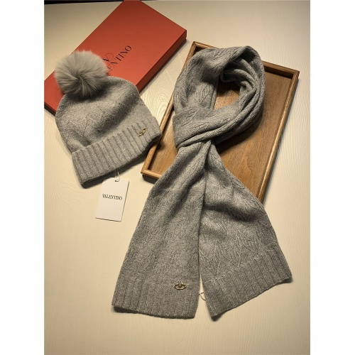 Replica Valentino Scarf & Hat Set #825115 $56.00 USD for Wholesale