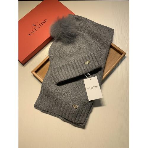 Valentino Scarf & Hat Set #825121 $56.00 USD, Wholesale Replica Valentino Scarves