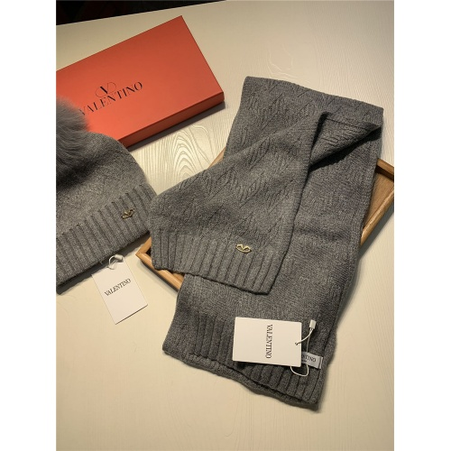 Replica Valentino Scarf & Hat Set #825121 $56.00 USD for Wholesale