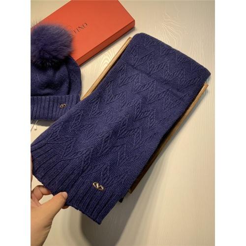 Replica Valentino Scarf & Hat Set #825123 $56.00 USD for Wholesale